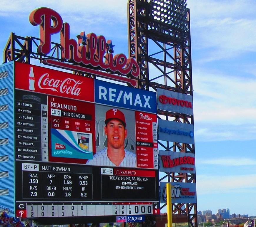 JT Realmuto Phillies